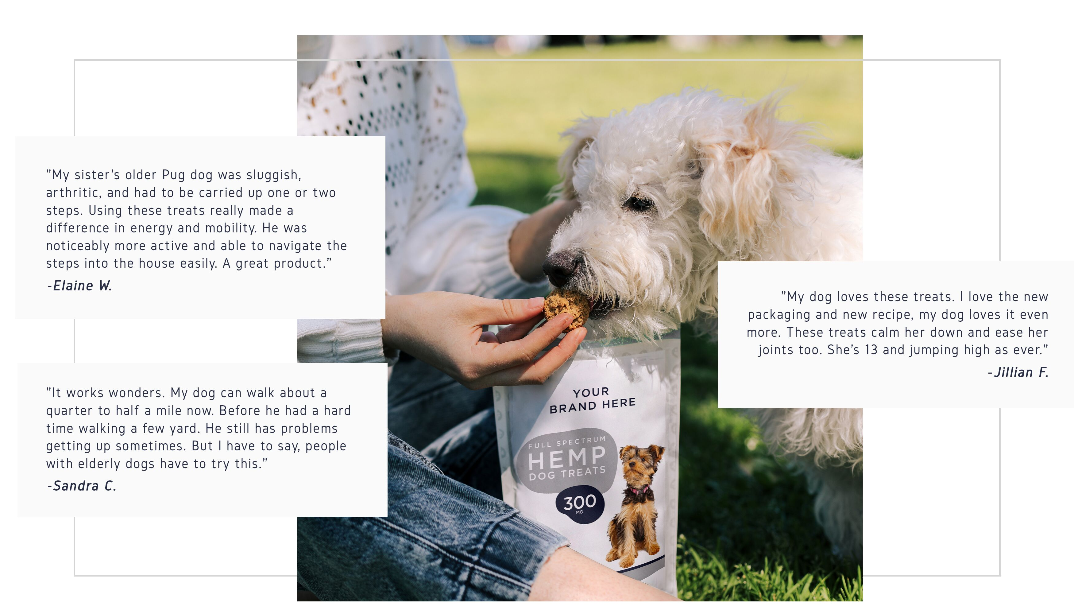 Neurogan Private Label Pet Treats Testimonials